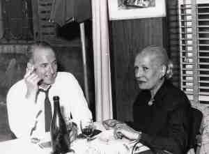 Spadolini con Yvette de Marguerie