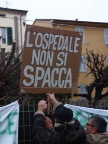 Uno degli slogan della protesta