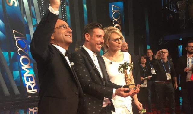 Il vincitore, Baffetto Babbana Benetton, con Inutilio Conti e Dentiera Gialla